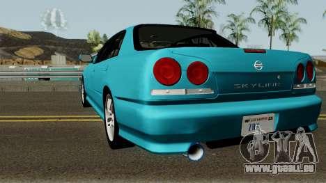 Nissan Skyline R34 Sedan 1999 pour GTA San Andreas
