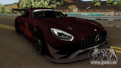 Mercedes Benz AMG GT3 2016 pour GTA San Andreas