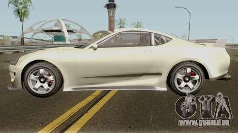 Dinka Jester Classic or F&F GTA V IVF pour GTA San Andreas laissé vue
