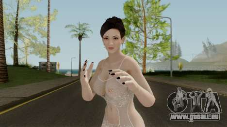 Dead Or Alive 5 LR Miyako Lewd Lingerie pour GTA San Andreas