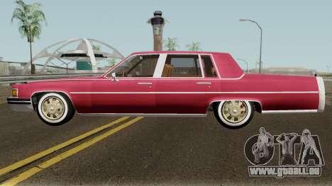 Cadillac Fleetwood Normal 1985 v1 pour GTA San Andreas laissé vue