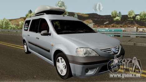 Dacia Logan MCV 1.5dci 2007 für GTA San Andreas Innenansicht