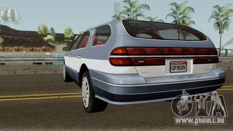 Ford Taurus Wagon 2003 für GTA San Andreas zurück linke Ansicht