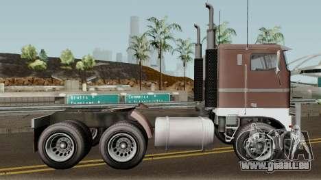 Jobuilt Hauler & Terminator 2 GTA V für GTA San Andreas Rückansicht