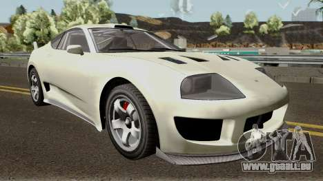 Dinka Jester Classic or F&F GTA V IVF pour GTA San Andreas vue intérieure