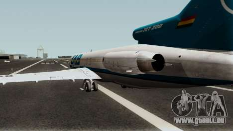 Boeing 727-200WL pour GTA San Andreas