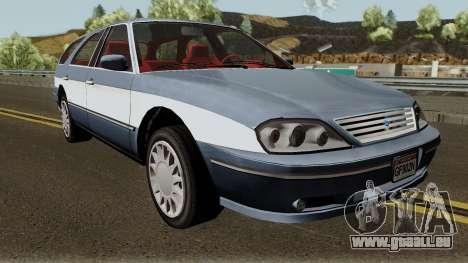 Ford Taurus Wagon 2003 für GTA San Andreas Innenansicht