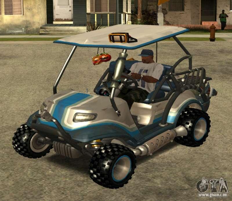 - voiturette de golf fortnite