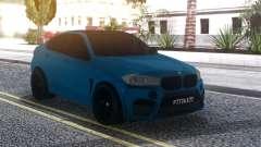 BMW X6M Blue pour GTA San Andreas