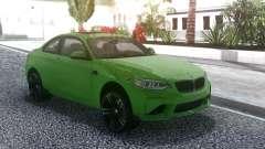 BMW M2 Green für GTA San Andreas