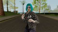 GTA Online Skin Female DLC After Hours pour GTA San Andreas
