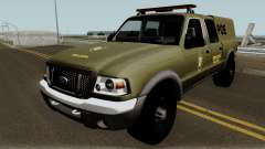 Ford Ranger 2008 Police pour GTA San Andreas