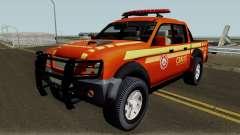 Mitsubishi L200 Brazilian Police pour GTA San Andreas