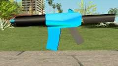 M4 Blue HQ für GTA San Andreas