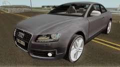 Audi S5 TR PLAKA 2008 pour GTA San Andreas