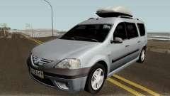 Dacia Logan MCV 1.5dci 2007 für GTA San Andreas
