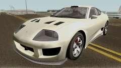Dinka Jester Classic or F&F GTA V IVF pour GTA San Andreas