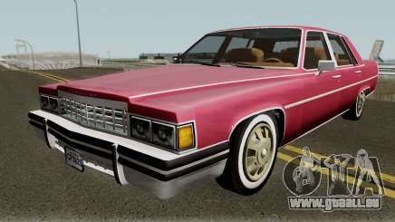 Cadillac Fleetwood Normal 1985 v1 für GTA San Andreas