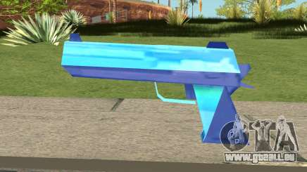 Desert Eagle Blue für GTA San Andreas