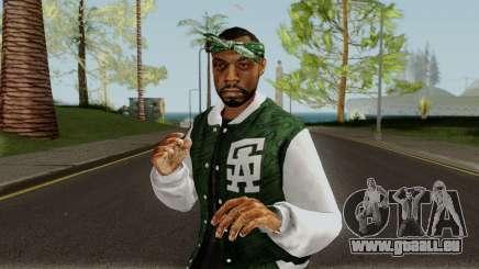 Grove Street Member GTA V pour GTA San Andreas