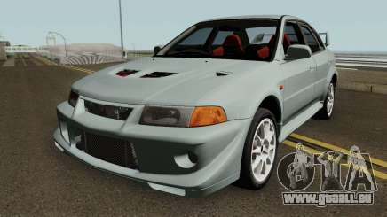 Mitsubishi Lancer Evolution VI HQ für GTA San Andreas