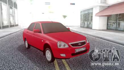 Lada Priora Red für GTA San Andreas