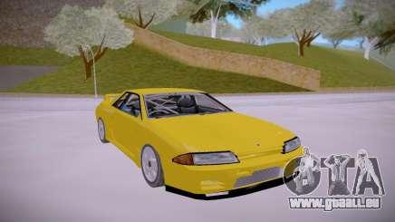 Nissan Skyline GTR R32 LOW für GTA San Andreas