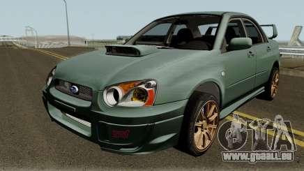 Subaru Impreza WRX STI 2004 Stock IVF pour GTA San Andreas