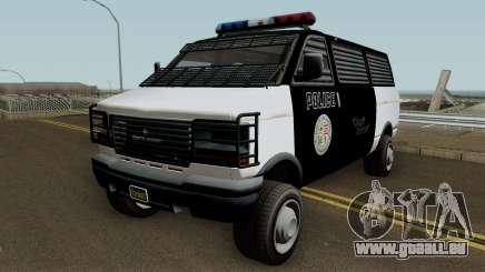 Police Transport Burrito GTA 5 für GTA San Andreas