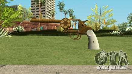 Double Action Revolver GTA 5 für GTA San Andreas
