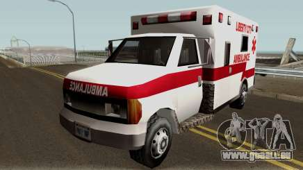 New Ambulance pour GTA San Andreas