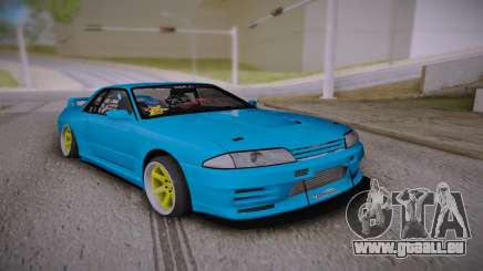 Nissan Skyline GT-R R32 JDM Style pour GTA San Andreas