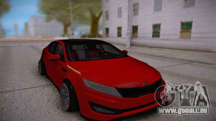 Kia Optima Red pour GTA San Andreas