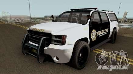 Police Granger GTA 5 pour GTA San Andreas