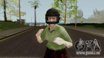 Grandma PUBG pour GTA San Andreas