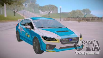 2017 Subaru WRX STI Rallye für GTA San Andreas