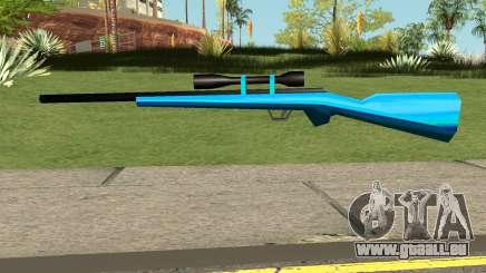 Sniper Rifle Blue pour GTA San Andreas