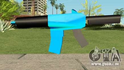 M4 Blue HQ pour GTA San Andreas