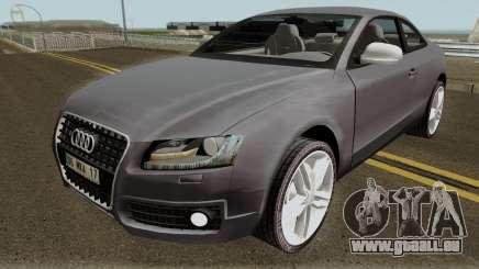 Audi S5 TR PLAKA 2008 für GTA San Andreas