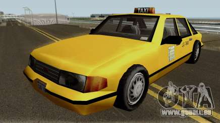 New Taxi IVF pour GTA San Andreas