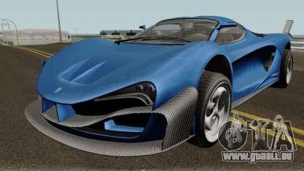 Grotti Turismo RX GTA V IVF für GTA San Andreas