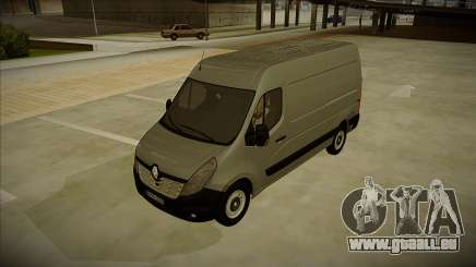 Renault Master 2017 Finland License Plates pour GTA San Andreas