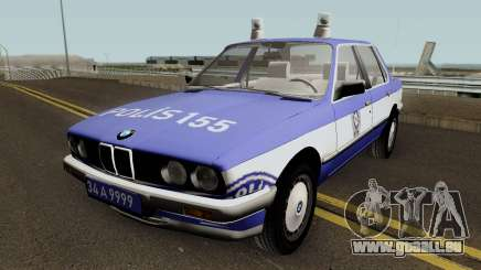 BMW 323i E30 Turkish Police Car pour GTA San Andreas
