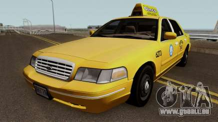 Ford Crown Victoria Taxi Downtown Cab v1.0 2003 pour GTA San Andreas