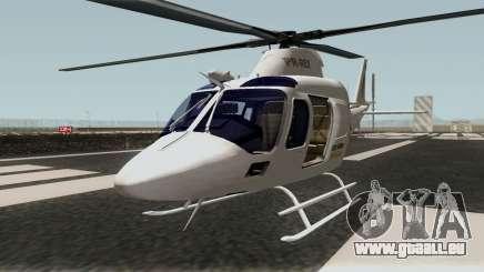 Helicopter A-119 Koala für GTA San Andreas