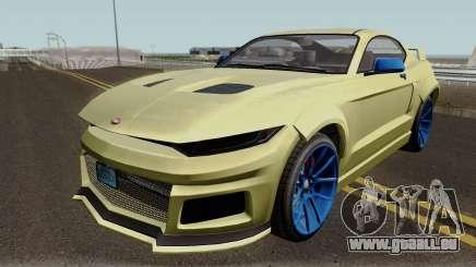 Vapid Dominator GTX GTA V IVF für GTA San Andreas