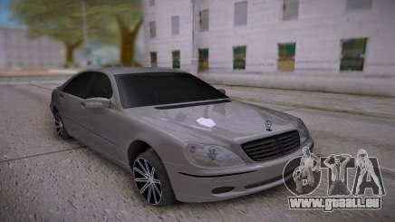 Mercedes-Benz S-class White für GTA San Andreas