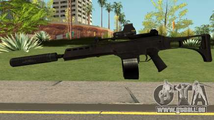 G36C Black für GTA San Andreas