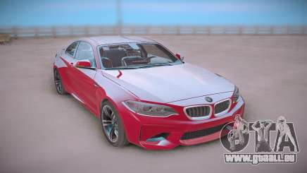 BMW M2 Red Coupe für GTA San Andreas