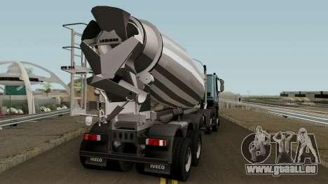 Iveco Trakker Cement 10x6 für GTA San Andreas rechten Ansicht